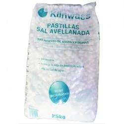 Sal Avellanada Saco 25 kg X 2 unidades Klinwass