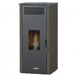 Estufa Pellet Ada Air Greenheiss 6 Kw Antracita