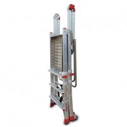 Escalera con Plataforma Faraone PLS 5 peldaños aluminio 1