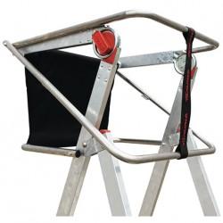 Escalera con Plataforma Faraone PLS 5 peldaños aluminio 2