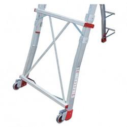 Escalera con Plataforma Faraone PLS 5 peldaños aluminio 4