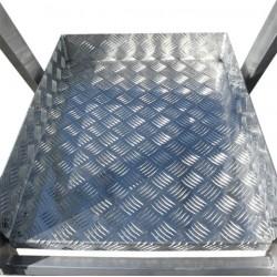 Escalera con Plataforma Faraone PLS 5 peldaños aluminio 5